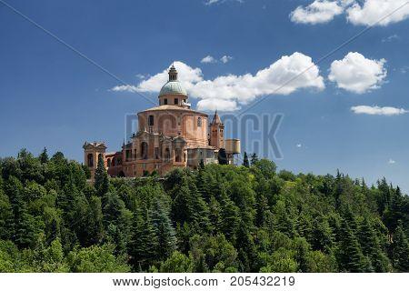 Bologna (Emilia Romagna Italy): the historic Sanctuary of Madonna di San Luca