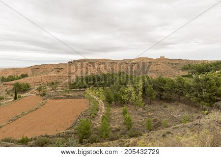 For The Desert Of The Monegros In Teruel