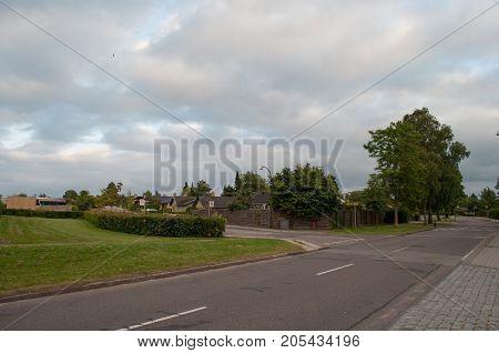 town of Herlev in suburbs of Copenhagen in Denmark