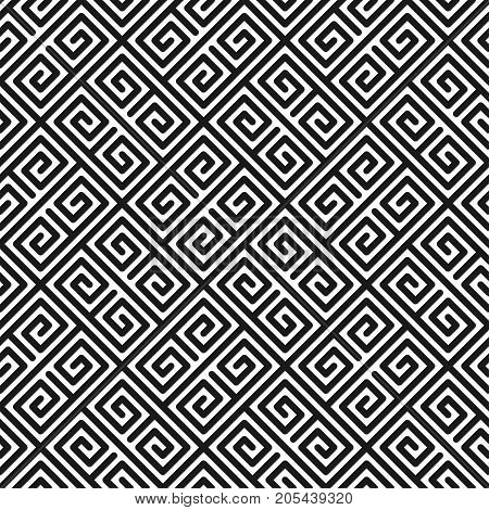 Geometric seamless pattern in minimalistic style. Vector illustration for cover design. Abstract background.