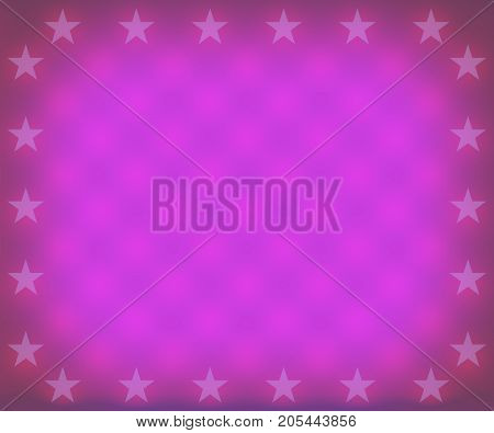 A purple stars christmas border frame background