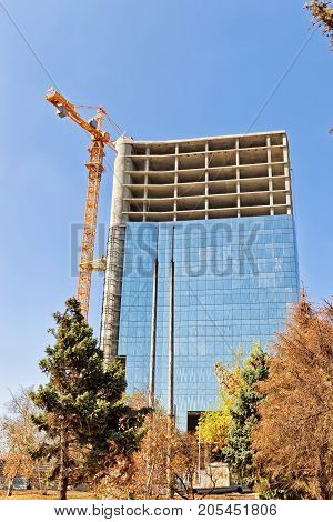 Construction Of Monolithic Multi-storey Office Building