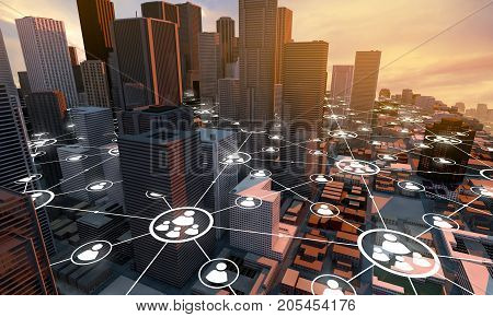 City Network Connection, Communication People