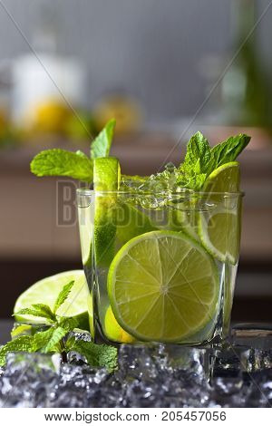 Drink With Lime .