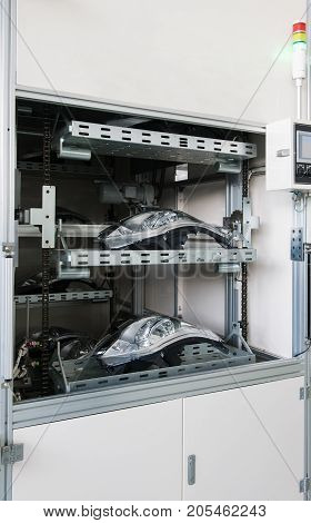 Equipment For The Manufacture Of Car Headlights