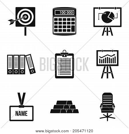 Mint icons set. Simple set of 9 mint vector icons for web isolated on white background
