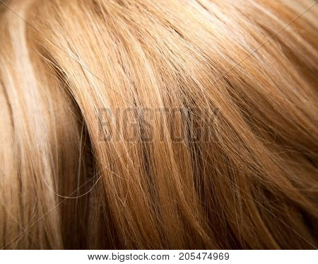 background of women's hair . Photo of an abstract texture