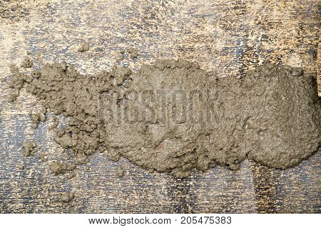 pouring cement floors . Photo of an abstract texture