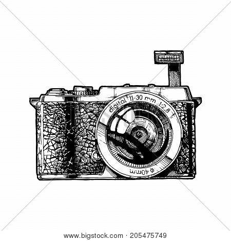 Mirrorless Interchangeable-lens Camera.