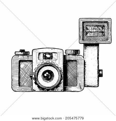 Illustration Of Toy Camera.