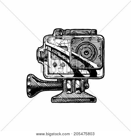 Illustration Of Action Camera