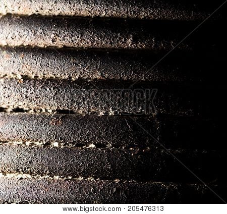 abstract metal wire . Photo of an abstract texture