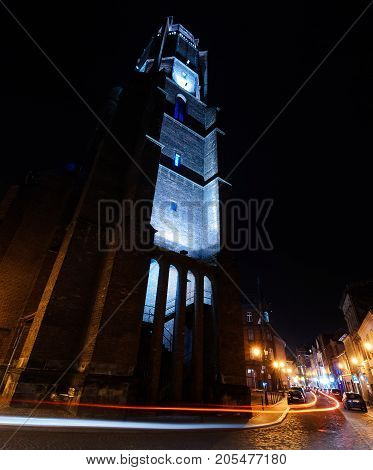 The Church of All Saints in Gliwice. Europe.