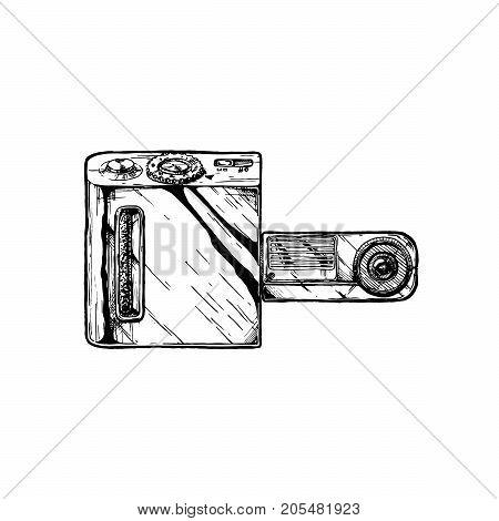 Swivel Lens Camera
