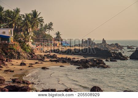View Of Arambol Beach