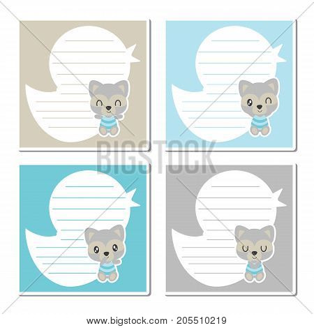 Cute baby raccoon on duck toy frame vector cartoon illustration for kid memo paper design, planner paper and stationery paper