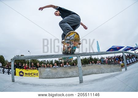 Jorge Simoes During The 4Th Stage Dc Skate Challenge