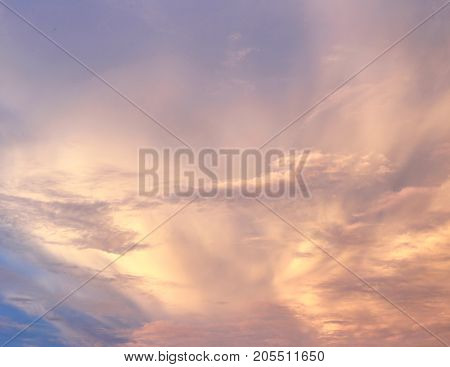 abstract blur color sunset background with shiny light concept