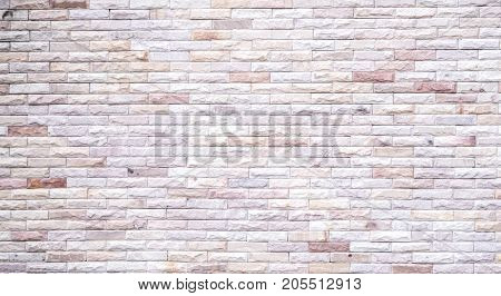 Modern pattern brick wall background with copy space, just add your own text