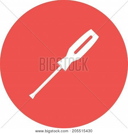 Screw, driver, tools icon vector image. Can also be used for Hand Tools. Suitable for use on web apps, mobile apps and print media.