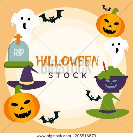 Halloween Stock | Halloween Poster is concept for holiday, mystery, horror, and much more.