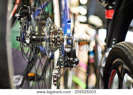 Carriage With Chain Rear Wheel Sports Mountain Bike