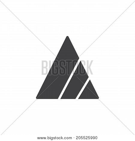 Bleach icon vector, filled flat sign, solid pictogram isolated on white. Symbol, logo illustration.