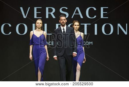 Fashion Show Runway Versace Collection