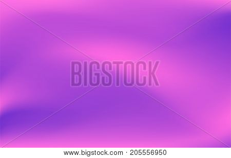 Abstract trendy gradient background of pink, purple, violet colors. Vector modern illustration for web design, wallpaper, cover, banner, print
