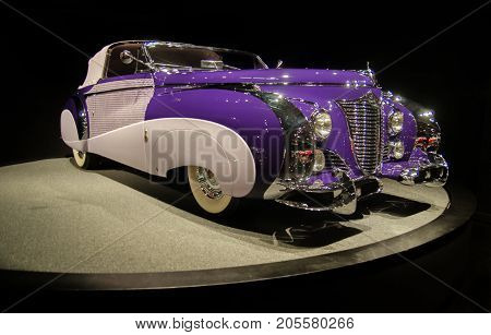 1948 Cadillac Series 62 Saoutchik Cabriolet Presented In Blackhawk Museum. Ca. Usa