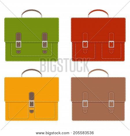 Collection Of Stylish Multi-colored Men S Leather Portfolios With Pockets And Without, With Buckles,