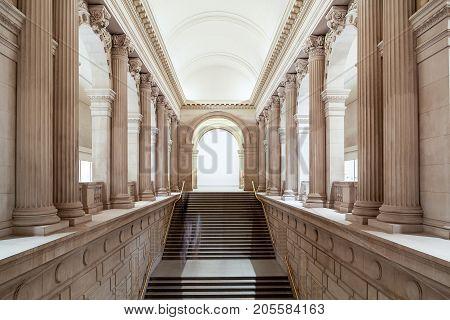 Metropolitan Museum Of Art NYC - entrance to exhibition