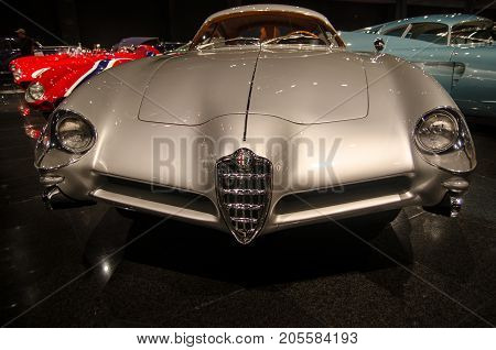 1953 Alfa Romeo B.a.t Bertone 5 Presented In Blackhawk Museum. Ca. Usa