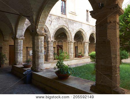 Chiesa Di San Domenico Maggiore In Taranto. Apulia, Italy.