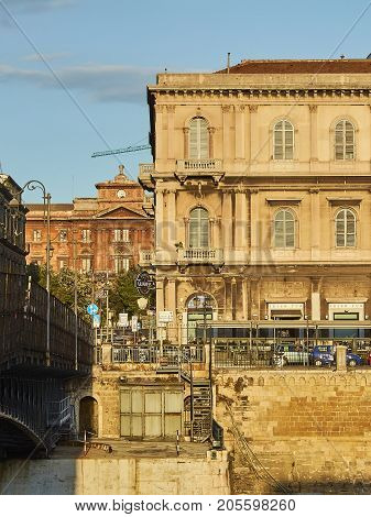 San Francesco Di Paola Bridge. Taranto, Apulia, Italy.