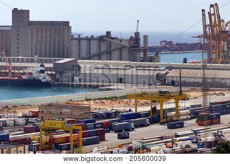 Cargo Terminal Port Barcelona