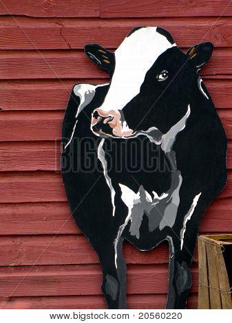 Vermont Cow Billboard