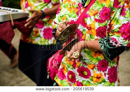 Perform Thai Traditional Music Instruments