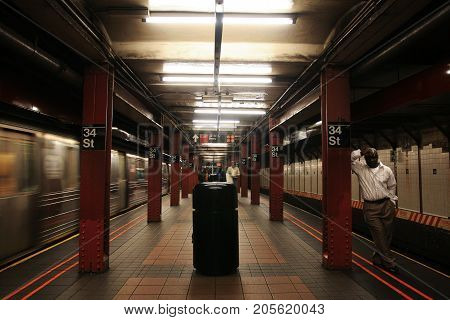 34St New York Subway Station