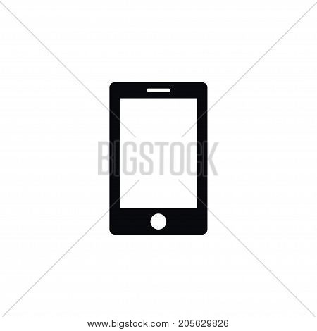 Smartphone Vector Element Can Be Used For Cellphone, Touchscreen, Smartphone Design Concept.  Isolated Touchscreen Icon.