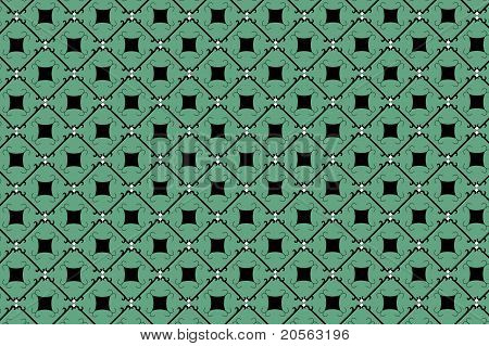 Green Retro Background