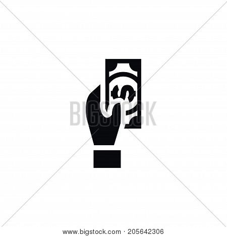 Finance Vector Element Can Be Used For Payout, Money, Finance Design Concept.  Isolated Payout Icon.