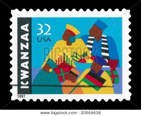 Usa 1997 Kwanzaa stamp