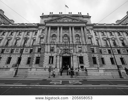 Hmrc In London Black And White