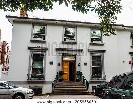 Abbey Road Studios In London, Hdr
