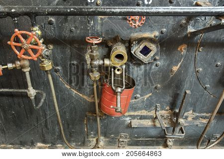 Engine Room In Liberty Ship
