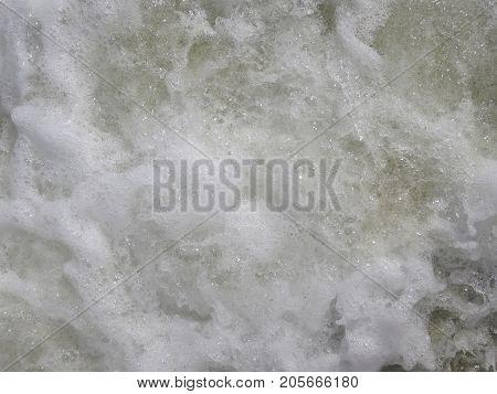 wave with sea foam wave with sea foam