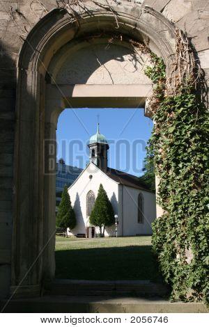 Church Through Stone Portal