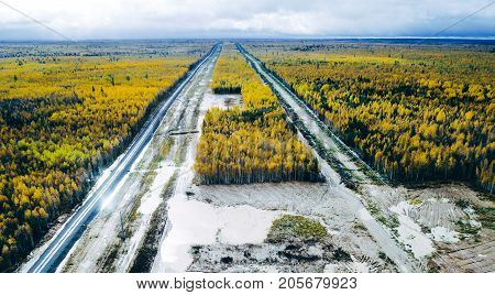 oil pipe russia pipeline forest gas autumn
