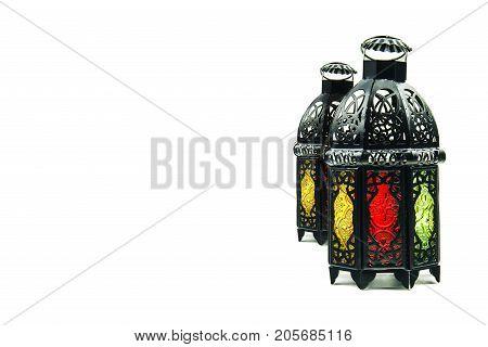 lightened Lantern style Arab or Morocco ,